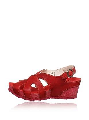 Think Keil-Sandalette Zilli (Rot)
