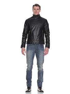 MG Black Label Men's Magnesium Moto Jacket (Onyx)