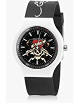 Ne-Bk Black /Black Analog Watch Ed Hardy