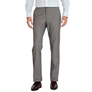 Flat Front Business Casual Trousers