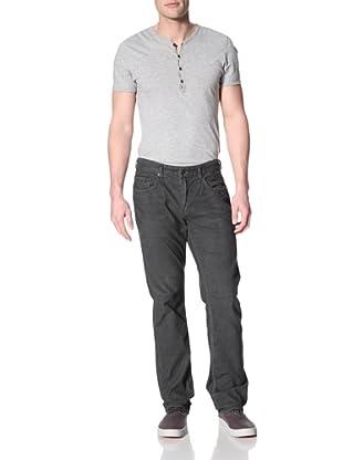 Kasil Workshop Men's Davidson Straight Corduroy Pants (Anchor)