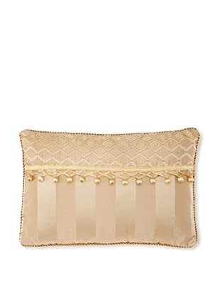 Waterford Linens Anya Decorative Pillow, Gold, 12