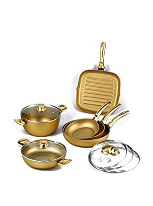 Stonegold Pfannen-Set mit Deckel oro/oro lucido