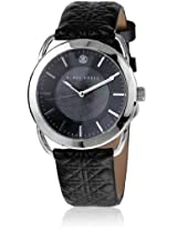 Kk-10011-01 Black/Black Analog Watch