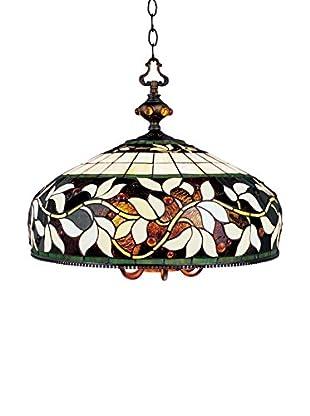Artistic Lighting English Ivy 6-Light Pendant, Bronze