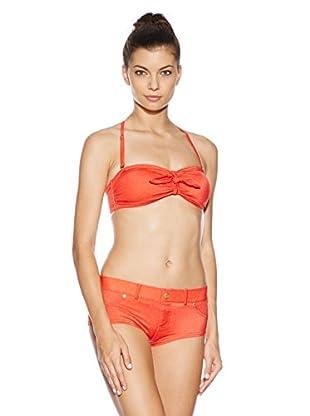 Marc by Marc Jacobs Bikini Jamie Denim (rot)