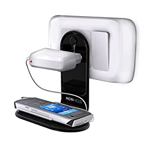 Riona Mobile Charging Holder Mobihold for Mobiles, ipod, PDA, MP3