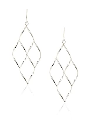 Fraydee Collection Diamond Shape Drop Earrings