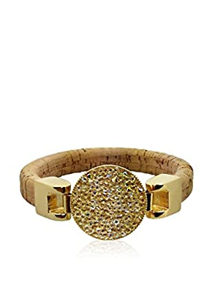 Philippa Gold Armband vergoldetes Metall 24 kt