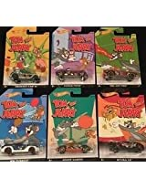 HOT WHEELS TOM AND JERRY MODELS SET OF 6
