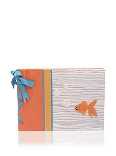 Molly West Fishy - Large Paper Album, Orange