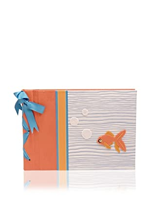 Molly West Fishy Large Paper Album, Orange