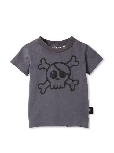 NUNUNU Kid's Pirate Tee (Dark Grey)