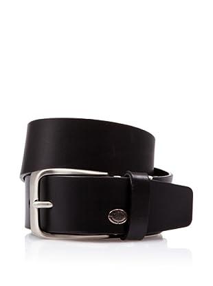 Caramelo Cinturón Vestir (Negro)
