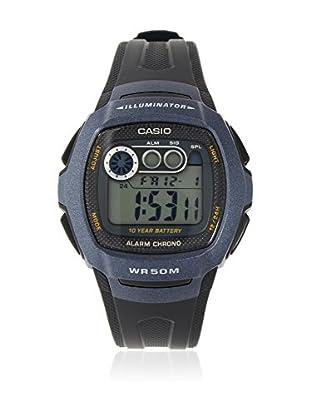 Casio Reloj con movimiento cuarzo japonés Unisex W-210-1B 15 mm