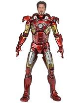 NECA Avengers Battle Damaged Iron Man Action Figure 1/4 Scale