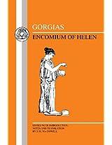 Encomium of Helen (BCP Greek Texts)