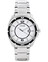 Citizen Analog Watch For Men Silver BK2520 53A