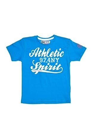 Scott&Fox Camiseta Monkey (Azul)
