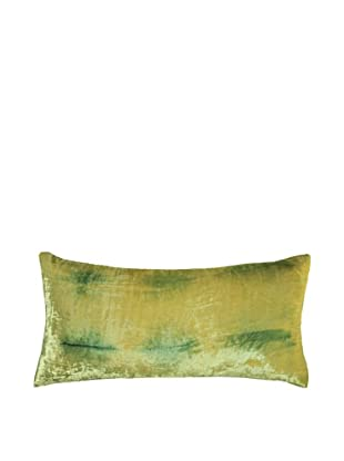 Kevin O'Brien Studio Hand-Painted Devore Velvet Rorschach Pillow