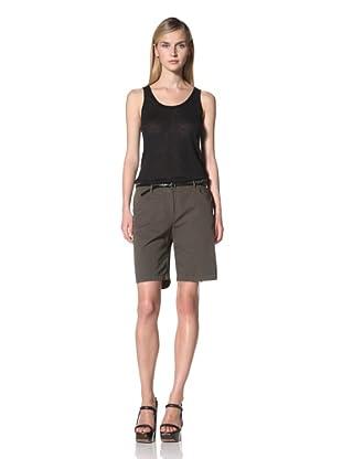 JIL SANDER NAVY Women's Walking Short (Military)