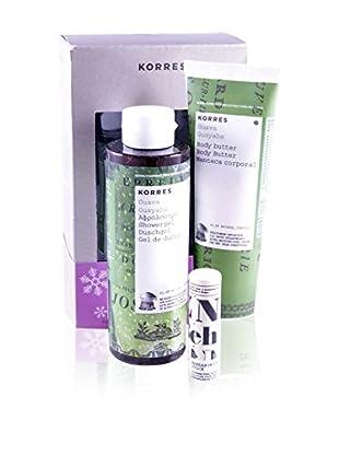 Korres Kit de Cara/Cuerpo 3 Piezas Guayaba