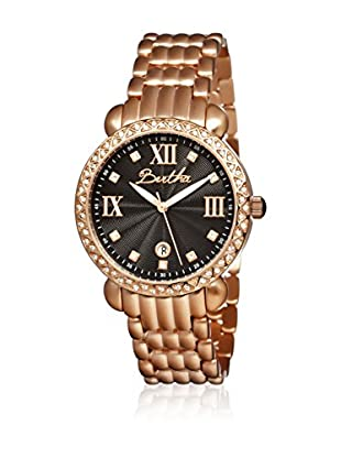 Bertha Uhr mit Japanischem Quarzuhrwerk Ruth goldfarben 41 mm