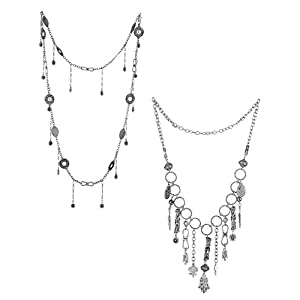 Voylla Combo Set Of 2 Chunky Necklace Set