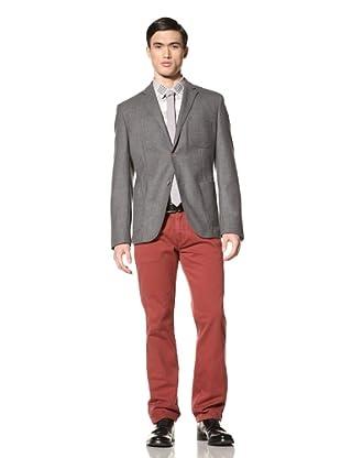Tallia Men's Vadim Two-Button Jacket (Light Grey)