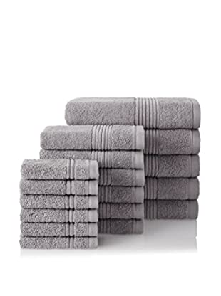 Chortex 17-Piece Ultimate Towel Set, Pewter