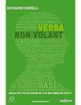 Verba non volant (Adagio) (Italian Edition)