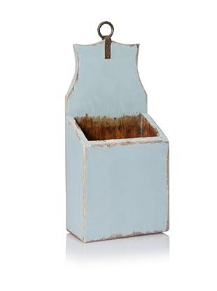 Antique Revival Small Mail & Keys Box (Aqua)