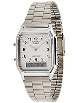 Casio Vintage Series Analog-digital White Dial Men's Watch - AQ-230A-7BMQ (AD02)