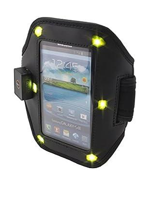 Unotec Brazalete Con Luz Led Negro Universal Para Smartphones