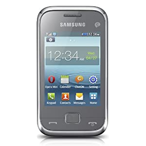 Samsung Rex60 C3312 Dual SIM GSM with 1.3 MP camera (Blue)