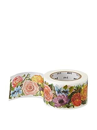 mt Masking Tape Floral Decorative Tape, Multi, 32.8 ft.