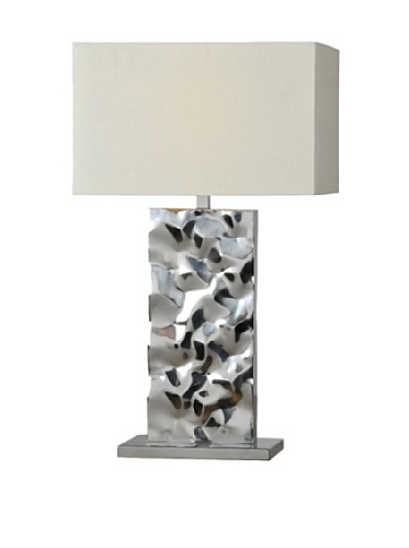 Couture Table Lamp, Silver
