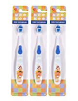 Mee Mee ToothBrush MM-3890 Blue Pack of 3