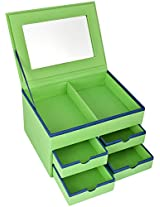 The Stylish Homes Multi Color Paper Jewelry Box for Unisex - G08
