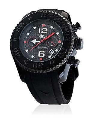 Vip Time Italy Uhr mit Japanischem Quarzuhrwerk VP5051BK_BK schwarz 47.00  mm