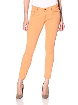 Rockstar Denim Women's Skinny Jean (nectarine orange)
