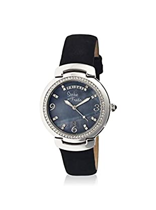 Sophie and Freda Women's SF4004 New Orleans Black Leather Watch