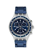 Swatch Blue Metal Analog Women Watch SVCK4077AG