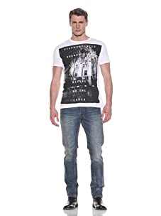 MG Black Label Men's System Graphic Tee (Bright White)