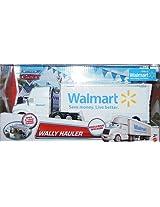 2012 Edition Disney Cars Wally Walmart Wal-Mart Hauler Truck 1:55 Scale Mattel Race O Rama Edition M