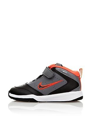 Nike Zapatillas Team Hustle (Negro / Gris)