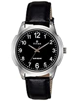 Titan Analog Black Dial Men's Watch - 1585SL08