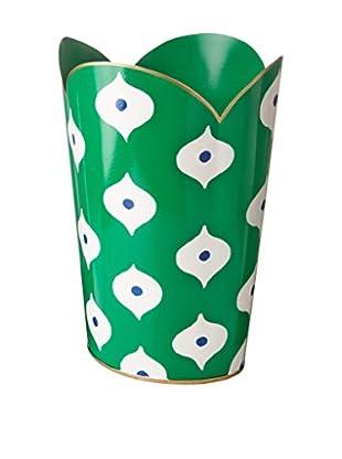 Jayes Sloane Tulip Wastebasket, Green