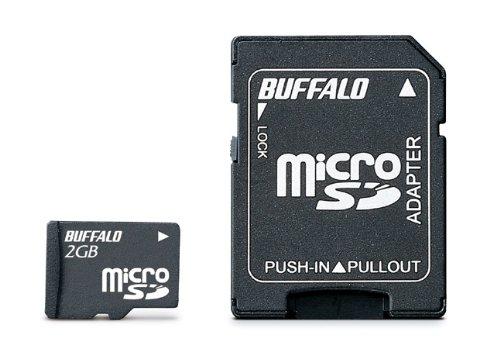 BUFFALO Class4 microSDカード 2GB RMSD-2GC4SA/E [フラストレーションフリーパッケージ (FFP)]