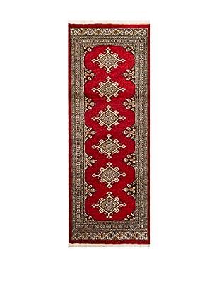 RugSense Alfombra Kashmir Rojo/Multicolor 168 x 62 cm